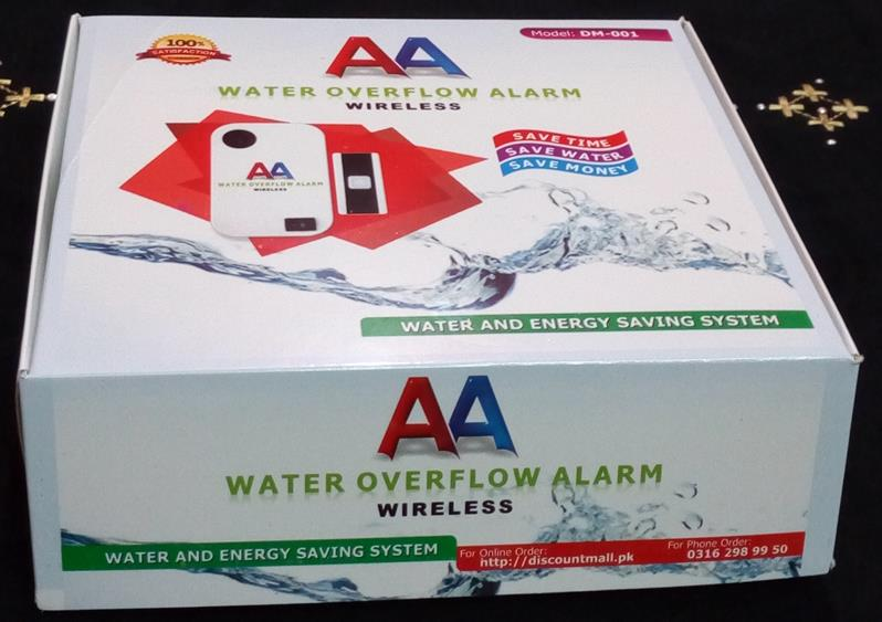 Water Overflow A;arm