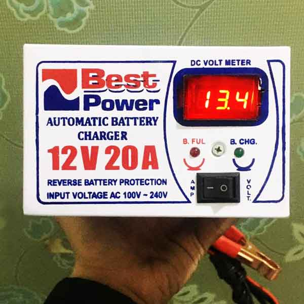 Full Automatic Battery Charger 12 Volt 20 Ampere 2