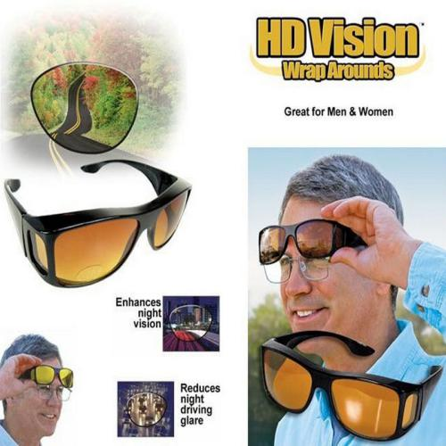 Night Vision Glasses Wrap Around Driving Glasses In Pakistan