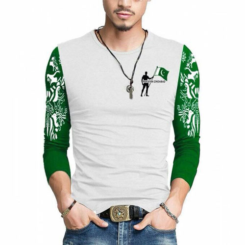 Independence Day Shirt With Sleeves