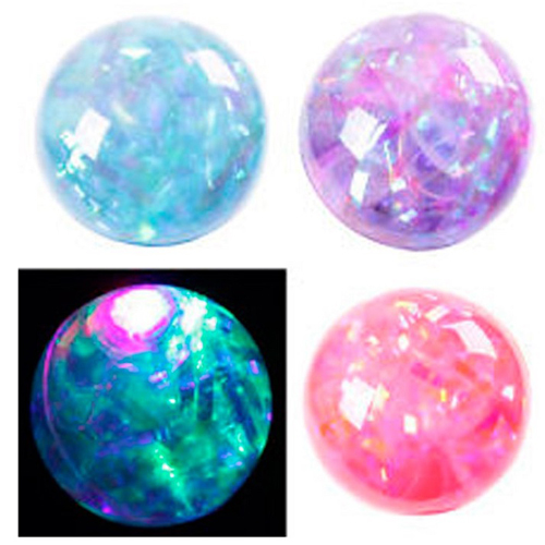 4 Piece Of Flashing Light Rubber Bouncing Ball Toys For Kids 1