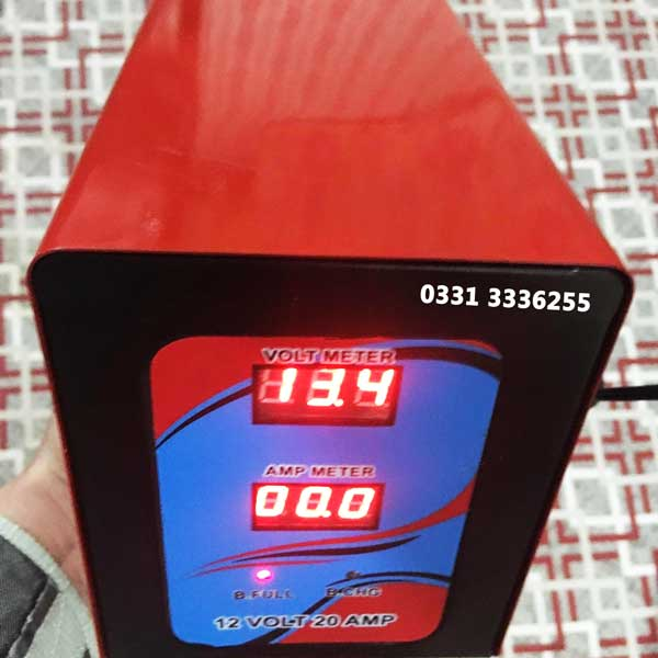 Full Automatic Battery Charger 12 V 20 Amp Microprocessor Technology 2