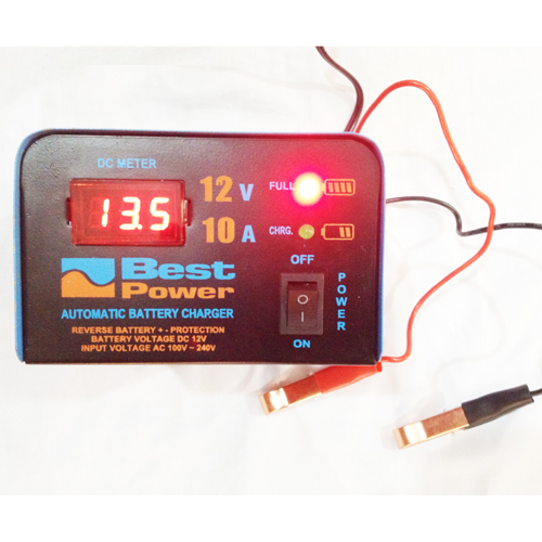 Fully Automatic 12 Volt 10 Ampere Digital Battery Charger 3