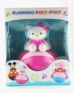 Running Roly Poly Musical Toy For Kids