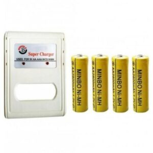 4 Rechargeable Cells & Charger
