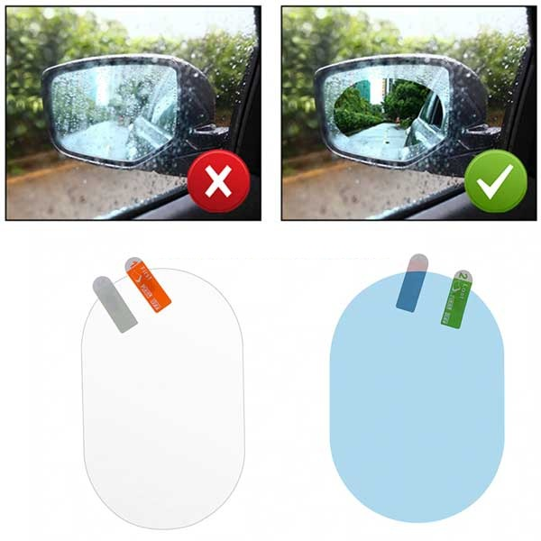 Anti Fog And Rain Proof Side Mirror Glass Stickers For Car 1