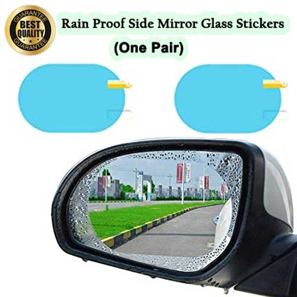 Anti Fog And Rain Proof Side Mirror Glass Stickers For Car 2