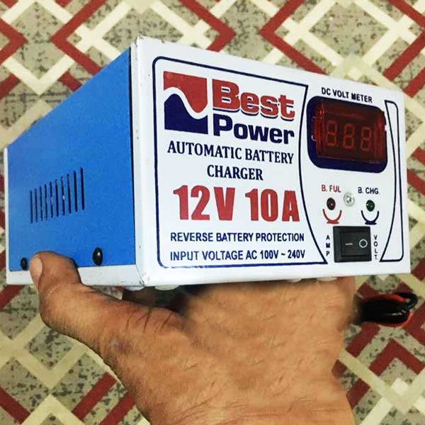 Automatic Battery Charger 12 Volt 10 Amp 1