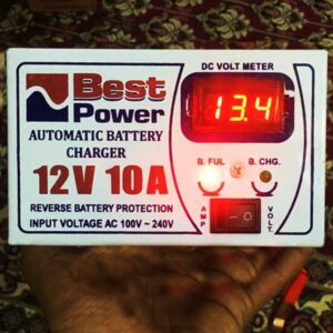 Automatic Battery Charger 12 Volt 10 Amp