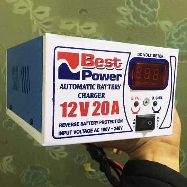 Automatic Battery Charger 12 Volt 20 Amp 1