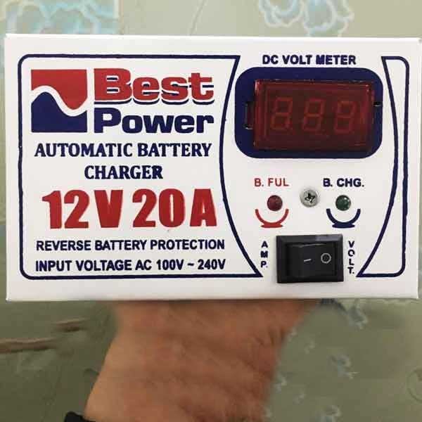 Automatic Battery Charger 12 Volt 20 Amp