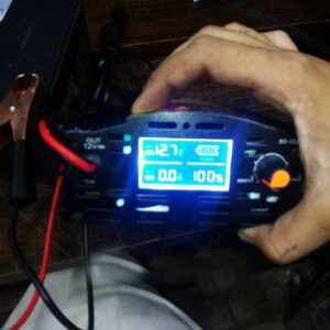 Automatic Digital 20 Ampere Battery Charger
