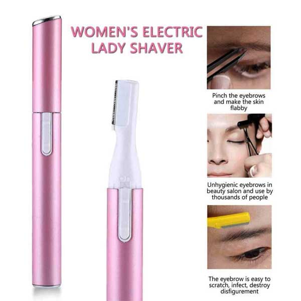 Electric Lady Shaver Legs Eyebrow Trimmer