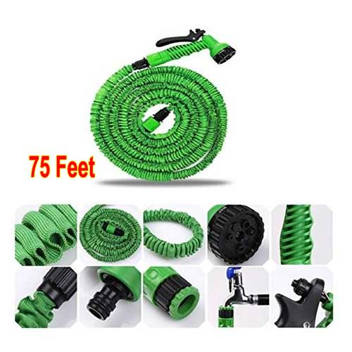 Magic Hose Pipe (75 Ft) With 7 Spray Gun Functions